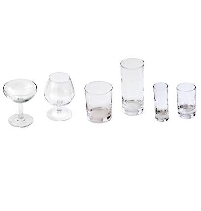 Location Coupe à champagne - verre vwhisky bas et haut - Verre à alcool - verre téquila