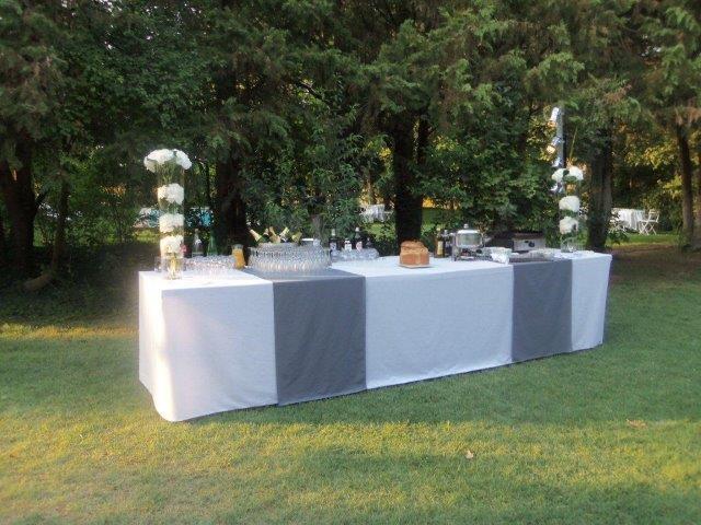 Location table Buffet dressé