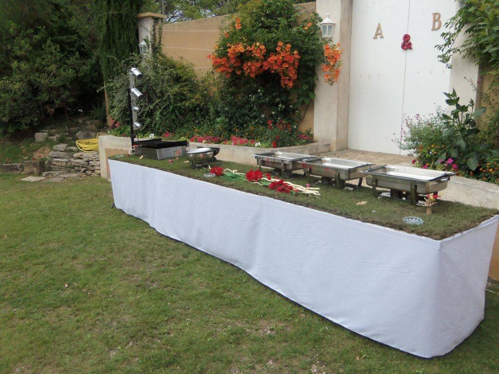 Location De Buffet Haut 2m X1m Lecourtier Location