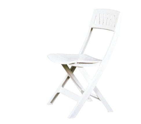 Chaise résine blanche