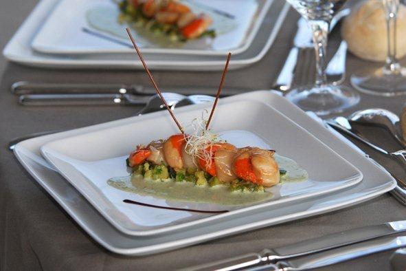 suggestion de plats prsents dans nos assiettes - Location Vaisselle Mariage Marseille