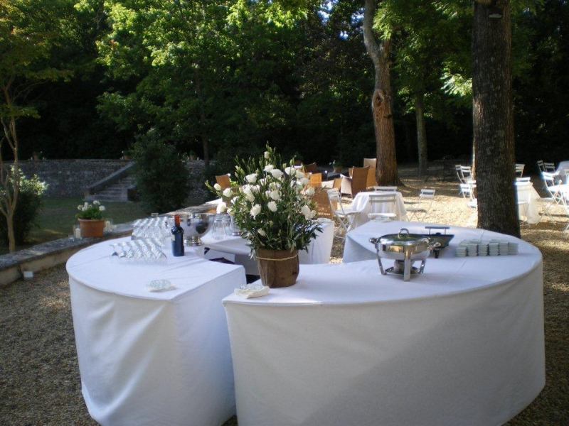 prsentation de buffets raliss avec notre service de table - Location Vaisselle Mariage Marseille