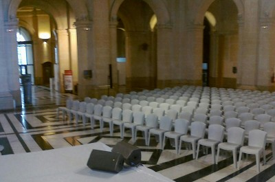 location chaise europa en conférence