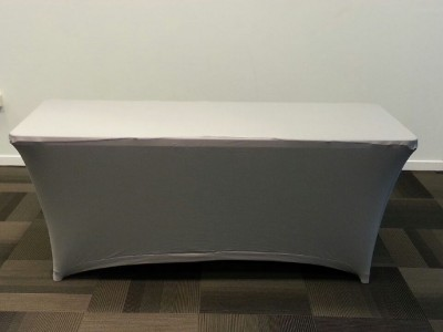 Housse grise ou noire  pour Table 1.82x0.76 en résine