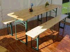 Location Table 2m x 0,80m  brasserie